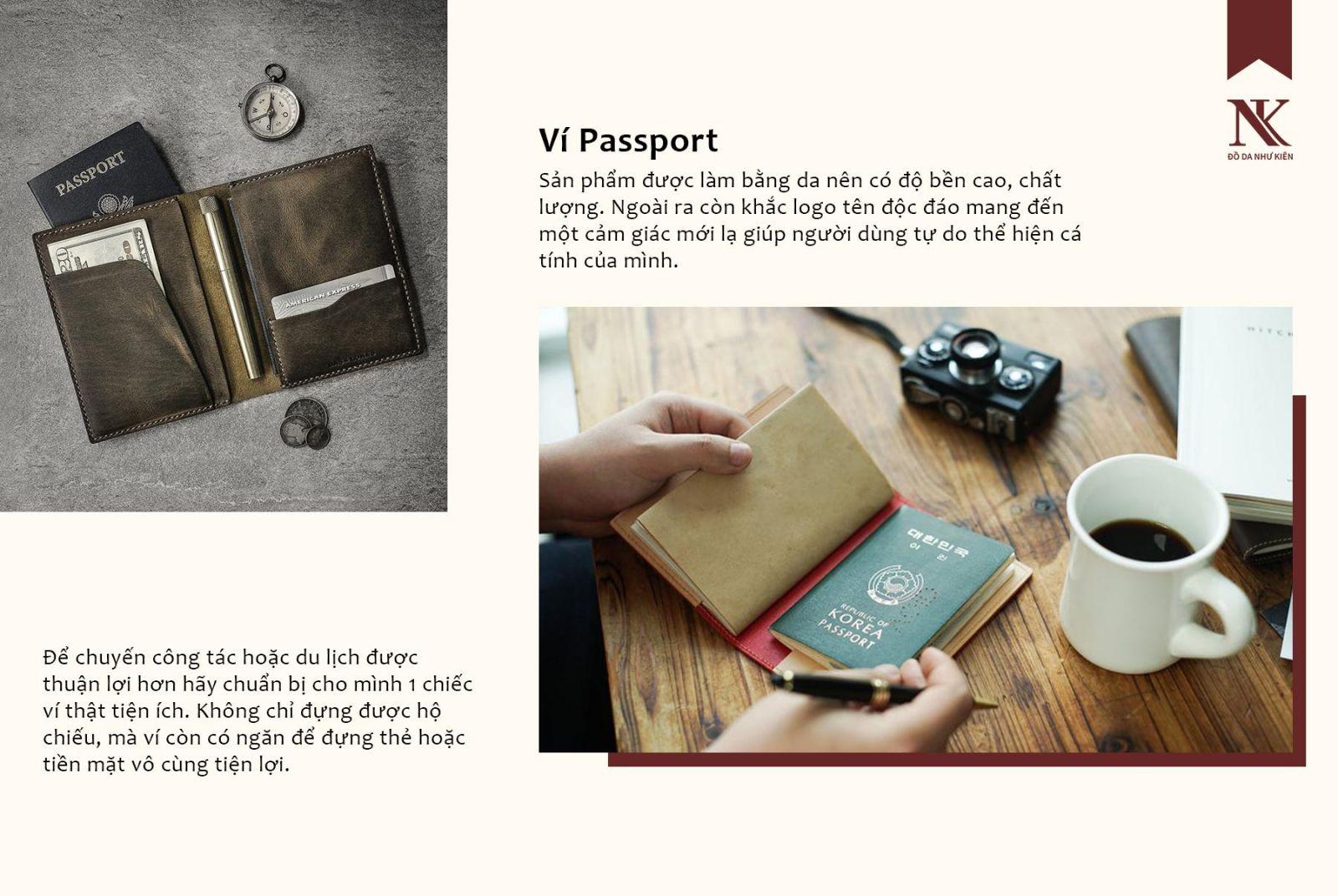 ví passport theo yêu cầu